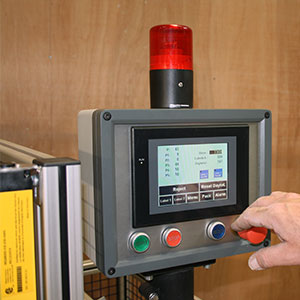 bedieningspaneel labeling machine