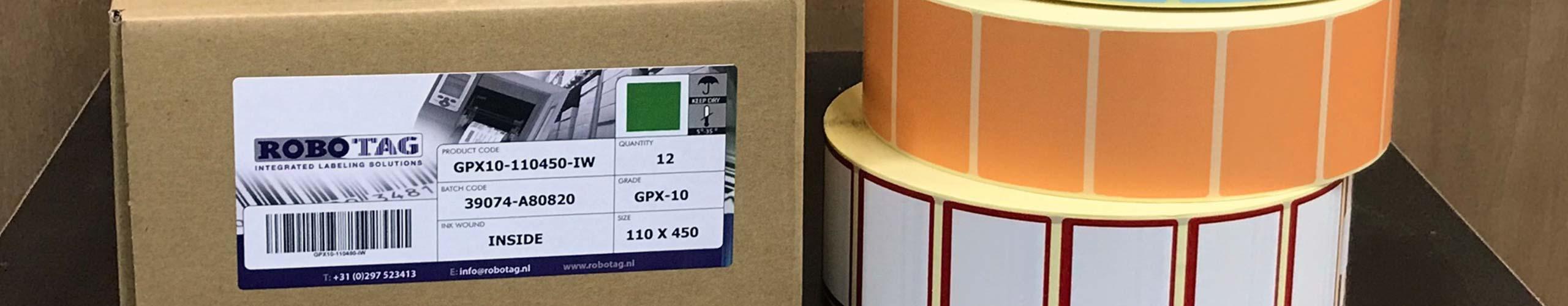 Robotag hoezen en etiketten los